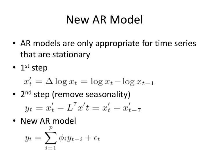 New AR Model