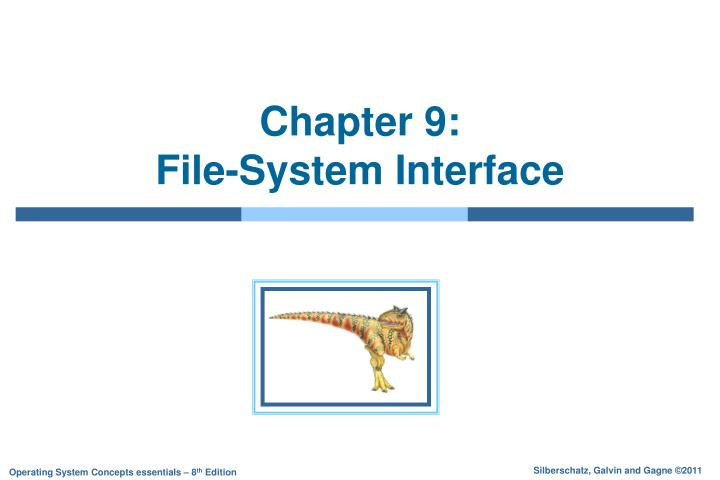 chapter 9 file system interface n.