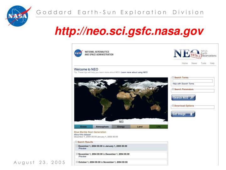 http://neo.sci.gsfc.nasa.gov