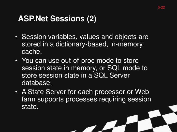 ASP.Net Sessions (2)