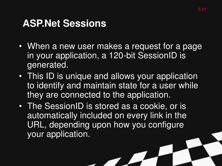 ASP.Net Sessions