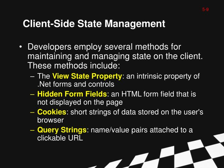Client-Side State Management