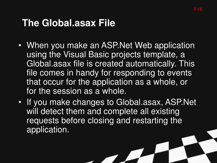 The Global.asax File