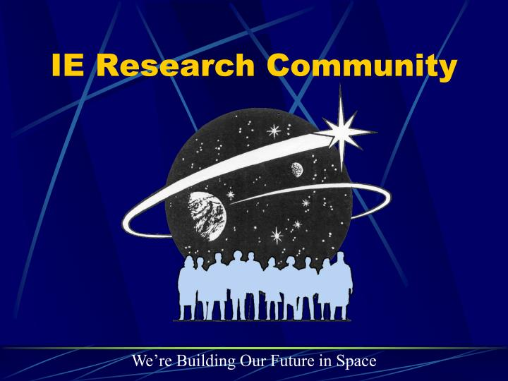 IE Research Community