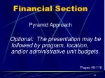financial section4