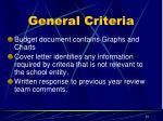 general criteria2