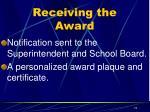 receiving the award1