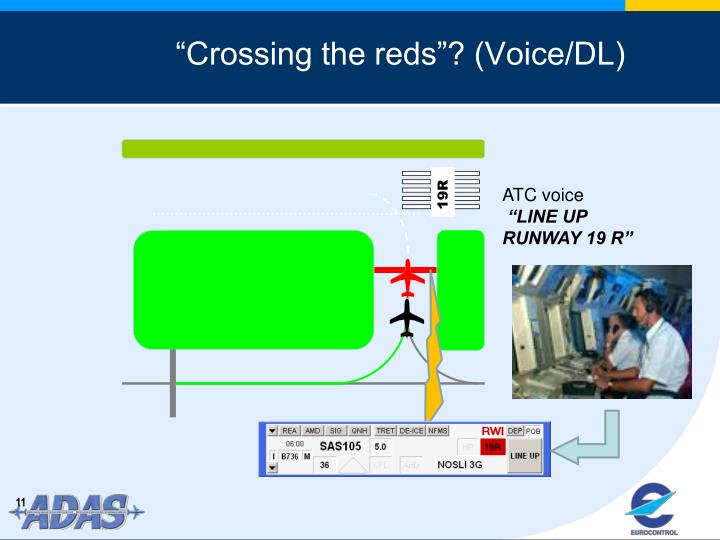 """""""Crossing the reds""""? (Voice/DL)"""