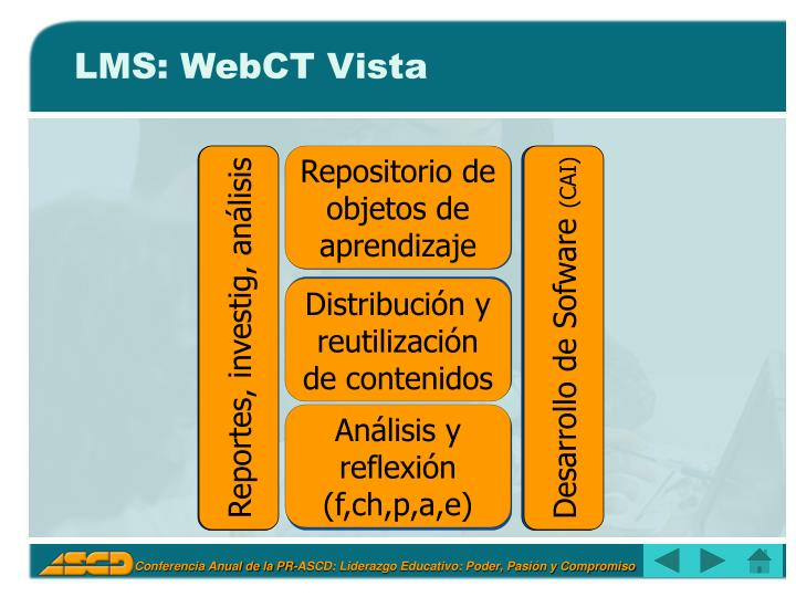 LMS: WebCT Vista