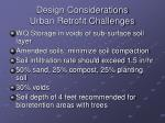 design considerations urban retrofit challenges2