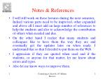 notes references