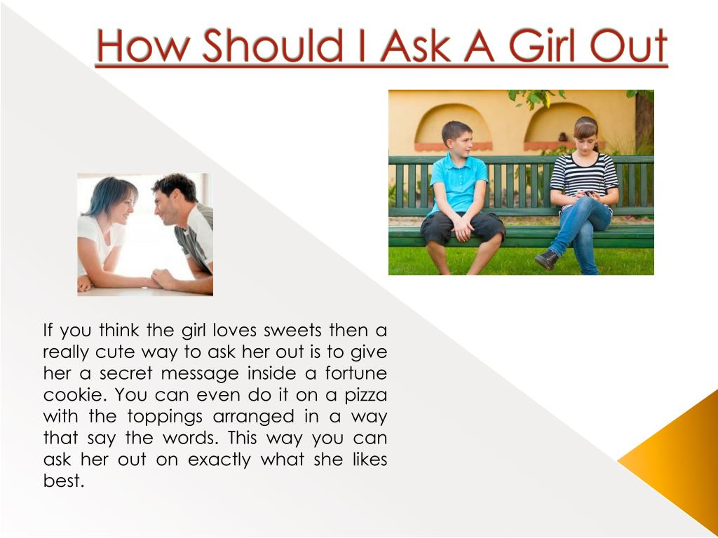 What words to say to ask a girl out