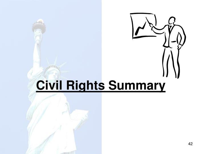 Civil Rights Summary