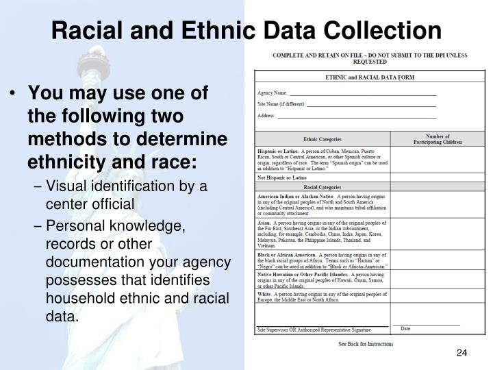 Racial and Ethnic Data Collection