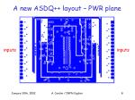 a new asdq layout pwr plane