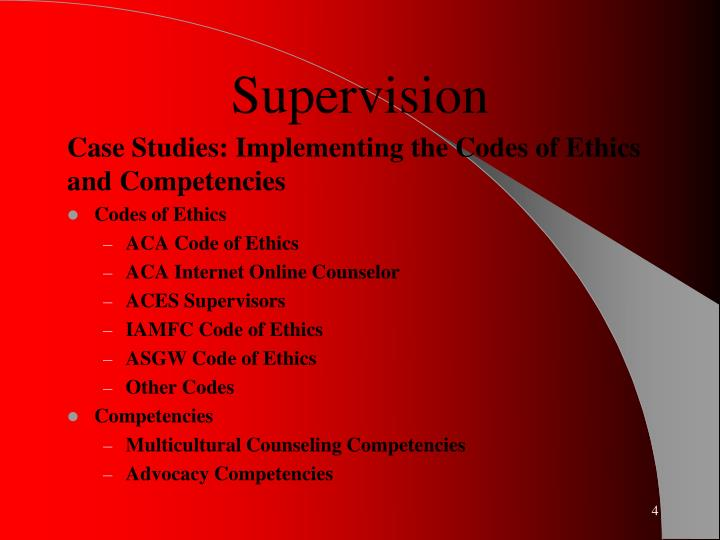 competencies of counselor