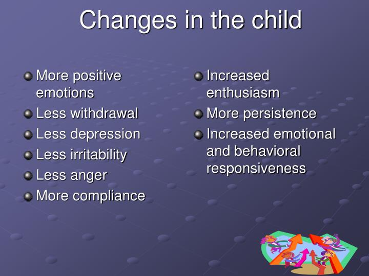 More positive emotions