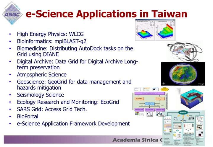 e-Science Applications in Taiwan