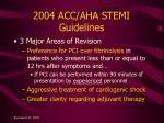 2004 acc aha stemi guidelines