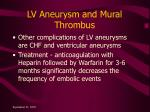lv aneurysm and mural thrombus2
