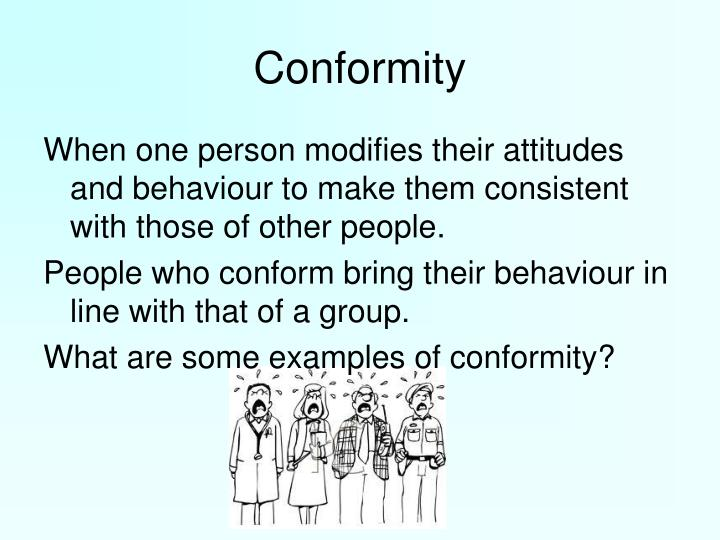 conformity among ofws Procedures the scale on conformity among ofws is composed of statements about how ofw a deal with people we will reverse the equivalent score of their answer most of the statements are about their everyday interaction with other people.