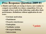 free response question 2009 11