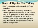 general tips for test taking15