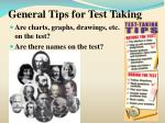 general tips for test taking16