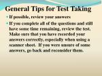 general tips for test taking19