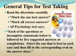 general tips for test taking4