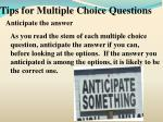 tips for multiple choice questions1