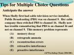 tips for multiple choice questions3