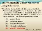 tips for multiple choice questions4