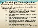 tips for multiple choice questions6