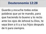 deuteronomio 12 28