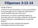 filipenses 3 12 14