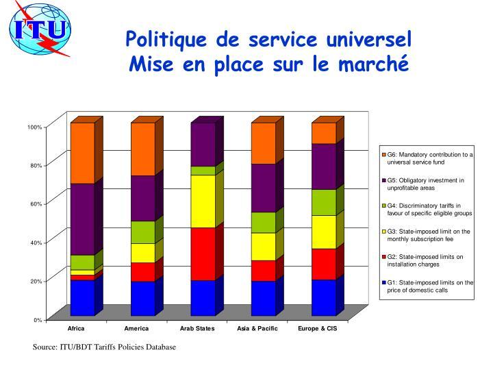 Politique de service universel