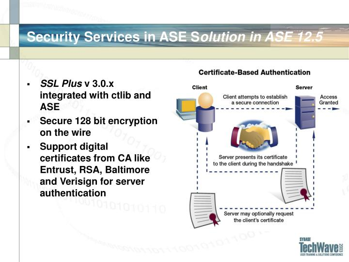 Security Services in ASE S