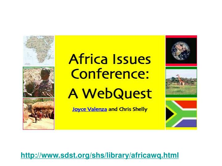 http://www.sdst.org/shs/library/africawq.html