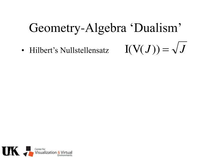 Hilbert's Nullstellensatz