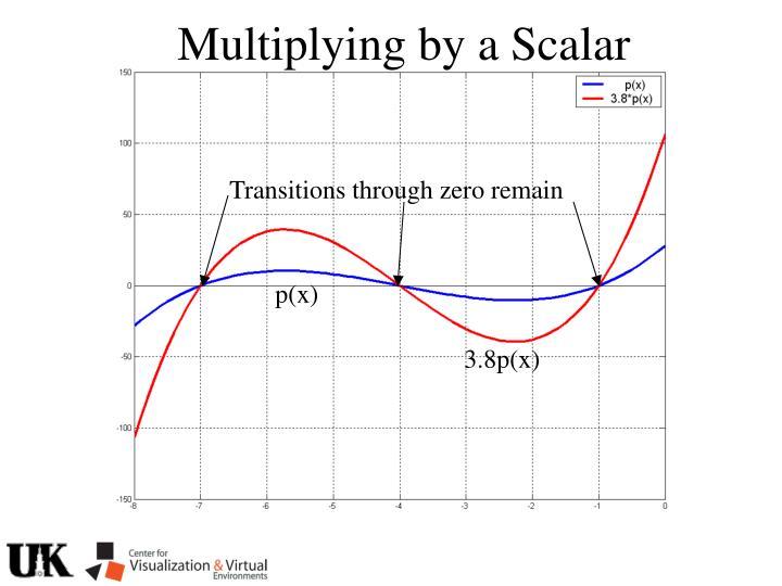 Multiplying by a Scalar