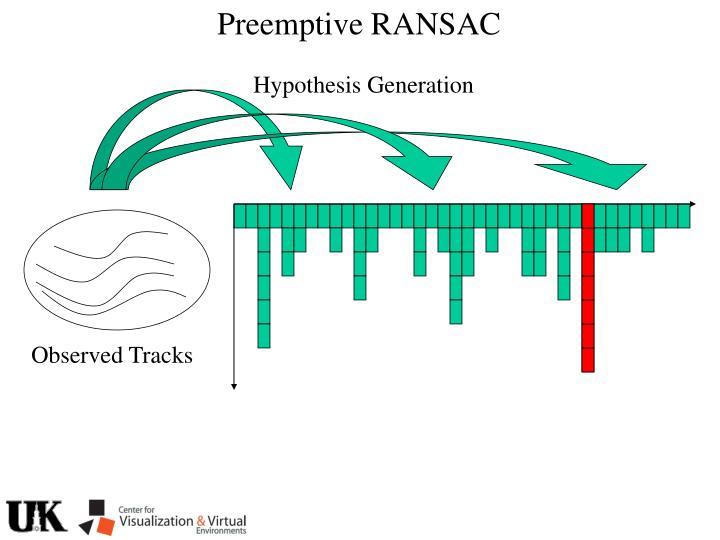 Preemptive RANSAC