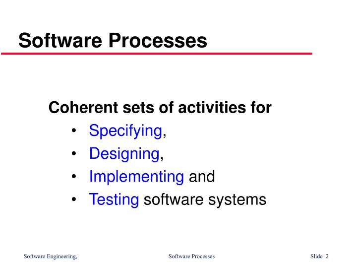 Software processes1