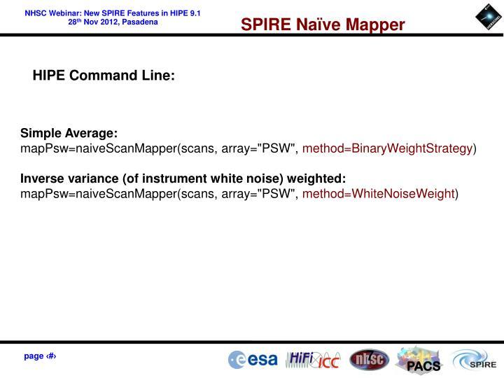 SPIRE Naïve Mapper