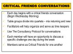 critical friends conversations