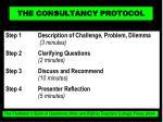 the consultancy protocol