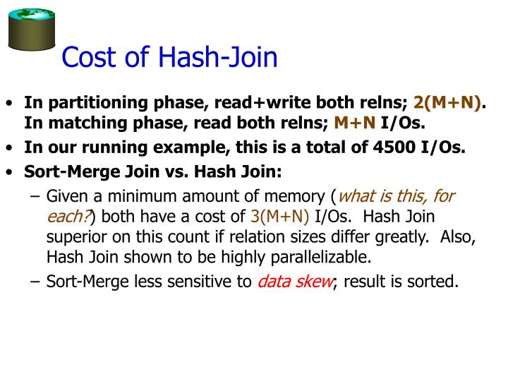 Cost of Hash-Join