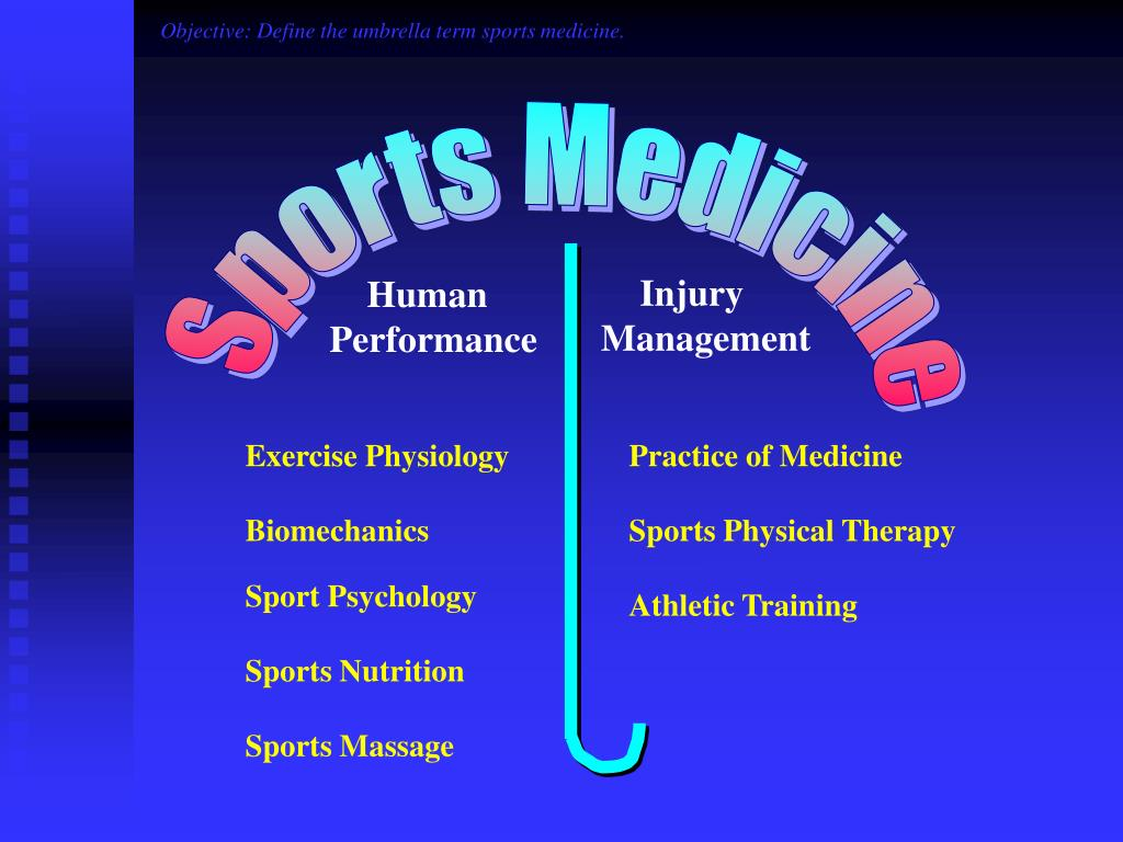 PPT - The Sports Medicine Team and Their Roles PowerPoint