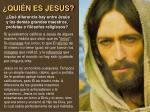 qui n es jesus