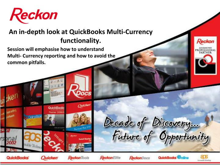An in depth look at quickbooks multi currency functionality